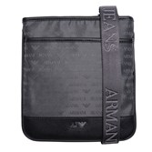 Armani Jeans Logo Print Pouch Cross Body Bag