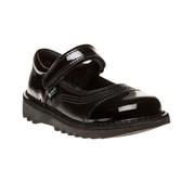 Kickers Kick Pop Patent Shoes - Baby