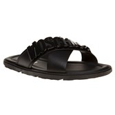 Moschino Large Logo Formal Sandals